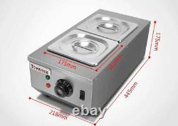 220v 2 Réservoirs Commercial Pot De Melting De Chocolat Électrique Melter De Chocolat Chaud