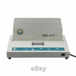 220v Électrique Pour Reliure À Livre Obligatoire De Livre De Reliure À Chaud De Machine À Relier De Colle A4 400