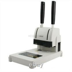 220v Hot Melt Riveting Tube Binding Machine Office Files Paper Manual Puncher Mp