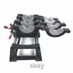 2.48-7.87inch 4 Clamps Pipe Fusion Soudeur Pe Hdpe Pp Tuyauterie Hot Melt Engine Melt Melt