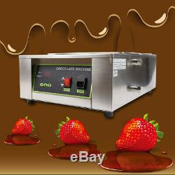 2 Grille De Commerce Elec Chaud Chocolat Chaudière Trempe Machine Melting Pot Chaud