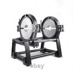 2 Pinces De Tuyau Et De Soudure Fusion Welder Pe Hdpe Pb Pipe Chaud Melt Welding Machine USA