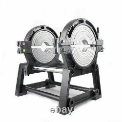 2 Pinces Manuelles Hdpe Pipe Fusion Soudeur 63-200mm Pipe Hot Melt Welding Machine