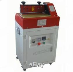 31cm Hot Melt Adhésif Gluing Machine D'enduit De Colle Pour Cuir / Papier Nouveau 220 Pq