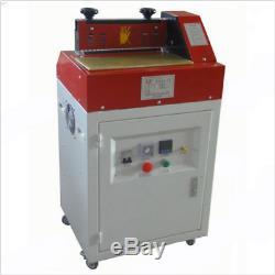 31cm Hot Melt Adhésif Gluing Machine D'enduit De Colle Pour Le Cuir, Papier 220 M
