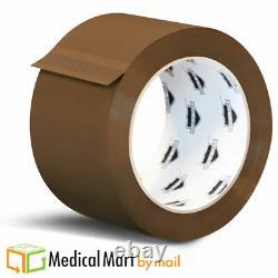 36 Rolls Brown Tan 2.44 MIL Hotmelt Emballage Packaging Tape 2 X 110 Yards (330')