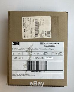 3m Applicateur Thermofusibles Tc Avec Quadrack Converter Et Palm Trigger 89445-4 Nouveau