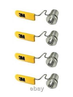 3m Télécommunications Sp-00505 Hot Melt Fc Connecteur Holder 4pk 80-6108-4614-1