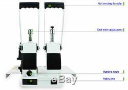 40mm 220 V Manuel Thermofusibles Reliure Livre Reliure Reliure Machine Utilisation Facile New