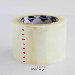 48 Rouleaux Hotmelt Carton Scellement Emballage Bande D'emballage 1,5 MIL 3 X 110 Yards
