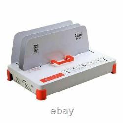 50mm D'épaisseur Hot Melt Reliure Machine Livre Enveloppe Binder Seulement 220v Gd500