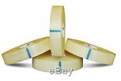 6 Rouleaux 2 Pouces X 1000 Yards Effacer Emballage 2 MIL Hotmelt Machine Conditionnement Bande