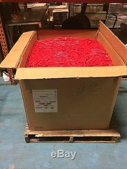 740 Livres De Bâtons De Colle À Chaud Fondent En Gros Le Rouge 7/16 Pouces X 4 Pouces En Vrac