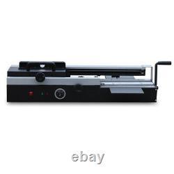A4 Desktop Hot Melt Glue Book Binding Machine Bureau Plastic Binding 10-400page
