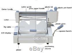 A4 Liaison Sans Fil De Bureau Machine Manuelle Colle Chaude Relieuse 40mm 220 V
