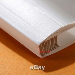 A4 Reliure Couverture Électrique Document Thermofusibles Reliure Thermique 10 Feuilles 110mm