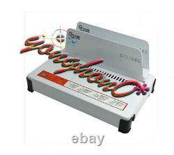 Automatique Hot Melt Binding Machine A3 A4 A5 Book Envelope Binder 220v Gd380