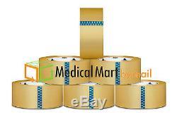 Bande D'emballage Transparente De 144 Rouleaux, 1,9 MIL De Colle Thermofusible, 3 X 110 Verges