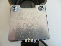 C. Four De Fusion Au Plomb De Pot Chaud Palmer Furnace Au Plomb Fabriqué Aux États-unis 400 W Nouveauté En Boîte