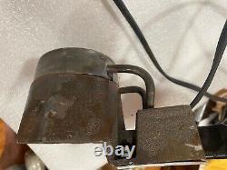 C. Palmer Hot Pot 2 Lead Melting Pot Furnace Au Plomb Fabriqué Aux États-unis 500w