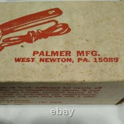 C. Palmer Hot Pot 4 Lb Lead Melter W Stand Easy Melt And Pour Nos Nib