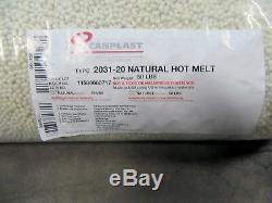 Canplast 2031 Topmelt Pelletized Thermofusibles Colle Plaqueuse, Couleur Naturelle, 50 Lb