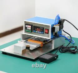 Chauffage Électrique Aluminium Strip Tissu Hot Melt Soudage Pressing Machine 220v