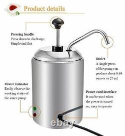 Chocolate Melt Pot Cheese Heater Melting Machine 2.5l Hot Fudge Jam