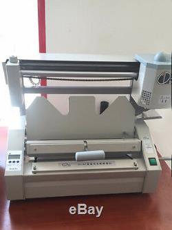 Classeur Manuel Dc-30 + A4 Sans Fil Livre Classeur De Reliure À Chaud, Petite Machine À Relier 220v