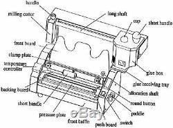 Colle Chaude Livre Reliure Reliure Parfaite Machine Livre Sans Fil À Chaud Thermique
