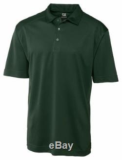 Cutter & Big & Tall New Manches Courtes En Polyester Polo T-shirt De Buck Hommes. Bck00291