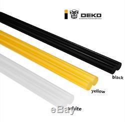 Deko 10pcs Hot Melt Sticks Colle Pour Colle Standard Pistolet Forte Viscosité 11270mm