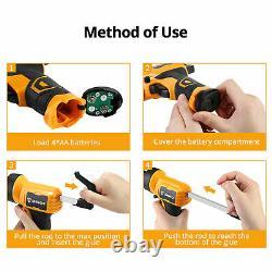 Dekopro Electric Heat Hot Melt Multi-function Cordless Yellow Glue Gun