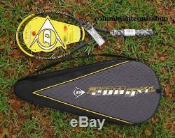 Deux (2) Nouvelles Raquettes De Tennis Dunlop 200g XL Hotmelt 95 200 G + Étui Non Attaché 4 1/4