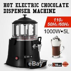 Distributeur De Chocolat Chaud 5 Litres Distributeur De Chocolat Et De Boissons Au Chocolat En Acier Inoxydable