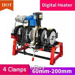 Electro 4 Colliers Fusion Soudeur Pe Hdpe Pp Piping Hot Melt Moteur 2,48 À 7,8