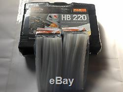 Glue Gun Kit Pam Par Fastenmester Hb220, Outil De Collage À Chaud Et 36 Bâtons De Colle