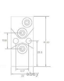 Groupe De Crafers Glue Glue Valve D'air Sur / Hors D'air Module