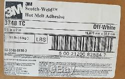 Hot Melt Bâtons De Colle Tc 3748 Blanc Cassé 11 # Cas (640 Pièces)