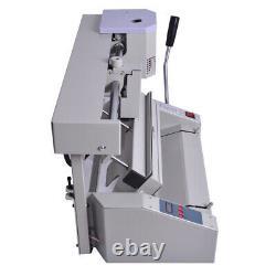 Hot Melt Glue Book Binder Perfect Wireless A4 Book Binding Machine- 110v