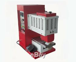 Hot Melt Revêtement Chaud Machine Gluing Fondre Pour Les Cuirs, Chaussures, Bottes D'équitation 220 V