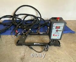 Hot Melt Technologies Auto Pack 715 Avec Panier, Alerte De Charge Pro Et Tuyau 16 Ft