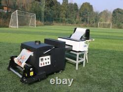 Hot Sale Imprimante A3 L1800 Dtf Avec Encre Dtf Et Pet Film Hot Melt Poudre Adhésive
