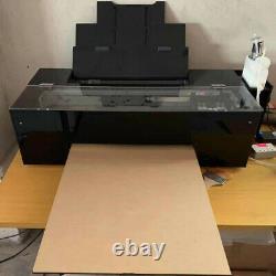 Imprimante Dtf Modifiée L1800 Avec Film Pet, Encre, Poudre Adhésive À Fusion Chaude Taille A3