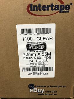 Intertape 1100 Heavy Duty Corru-grip Main Bande Fondue Chaude 72mm X 55m