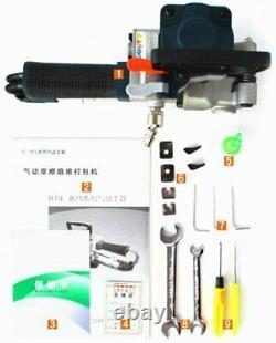 Kunhewuhua Portable Pneumatic Baler Strapping Tool Handheld Hot Melt B19 Nouveau