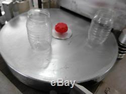 Machine À Étiquettes De Bouteille D'eau En Verre En Plastique De Colle De Fonte Chaude Automatique