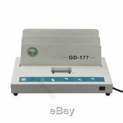 Machine À Relier De Liaison De Liaison De Livre De Liaison Chaude Électrique De Fusion De 220v Pour A4 400 Ne Pas
