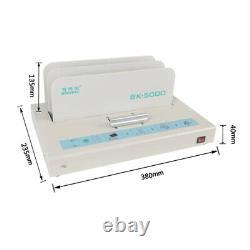 Machine De Reliure De Fonte Chaude Binder De Livre Électrique Pour Papier A3 A4 A5 A6 320x50mm