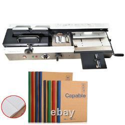 Machine De Reliure De Livre Hot Melt Colle Livre Binder 110v 1200w Équipement De Bureau